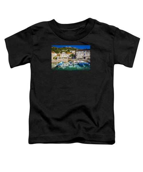 The Waiting Boats Toddler T-Shirt