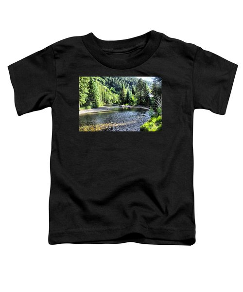The Way A River Turns Toddler T-Shirt
