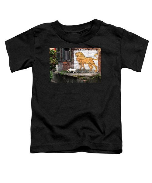 The White Cat Toddler T-Shirt
