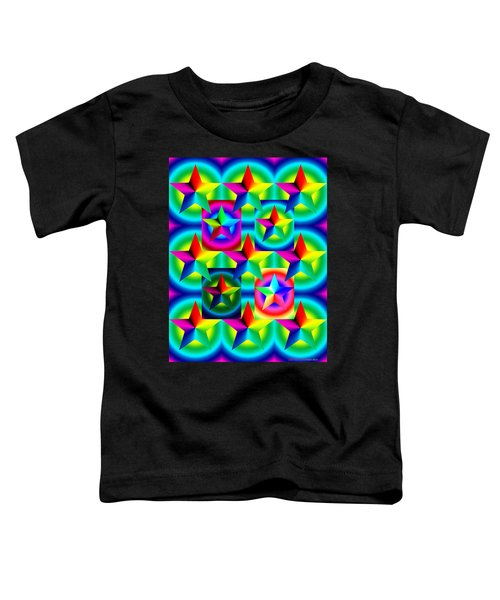 Thirteen Stars With Ring Gradients Toddler T-Shirt