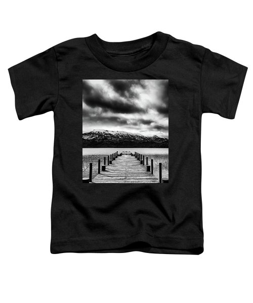 Dramatic Black And White Scene In The Argentine Patagonia Toddler T-Shirt