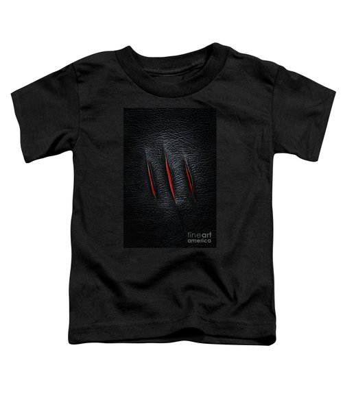 Three Cuts Toddler T-Shirt