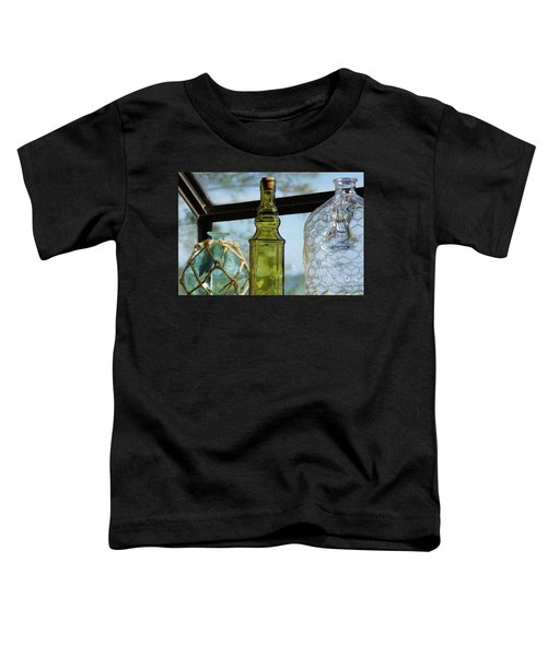 Thru The Looking Glass 3 Toddler T-Shirt by Megan Cohen