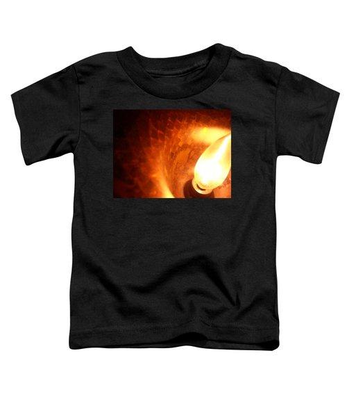 Tiffany Lamp Inside Toddler T-Shirt
