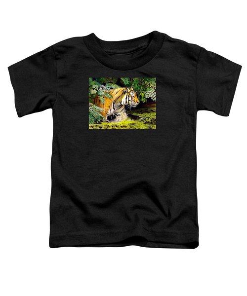 Tiger In The Sunderban Delta Toddler T-Shirt