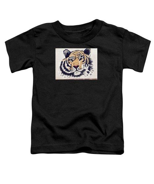 Tiger Tiger Burning Bright Toddler T-Shirt