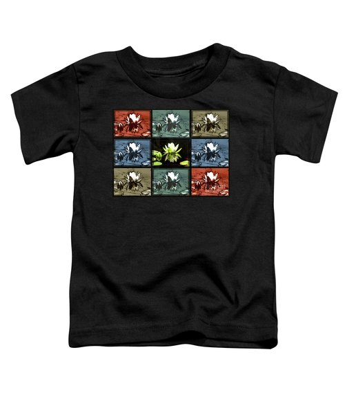 Tiled Water Lillies Toddler T-Shirt