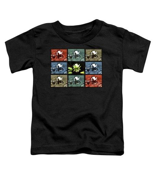 Tiled Water Lillies Toddler T-Shirt