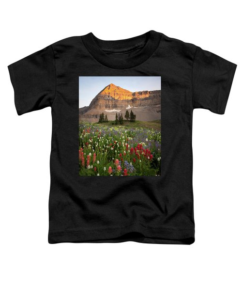 Timpanogos Bouquet Toddler T-Shirt
