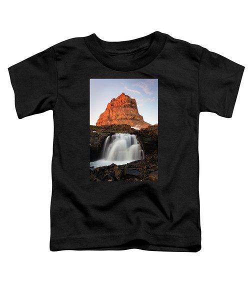 Timpanogos Waterfall Toddler T-Shirt