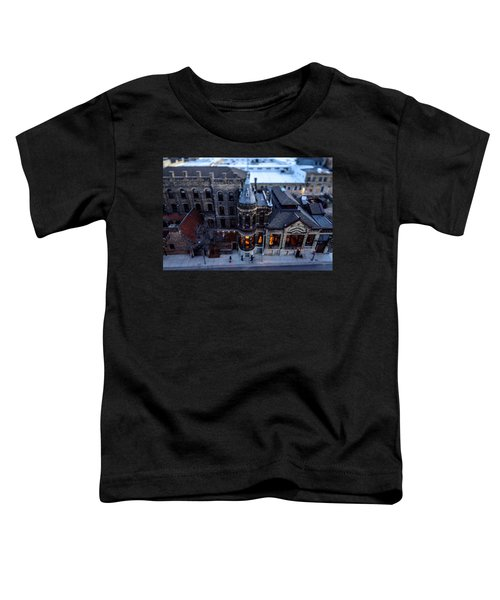 Tiny Pabst Castle Toddler T-Shirt