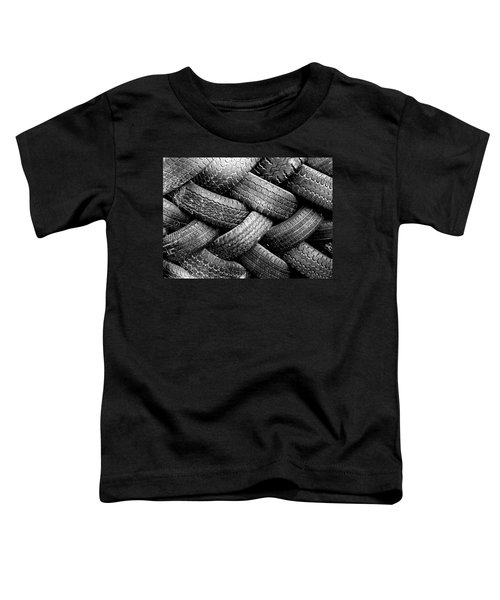 Tired Treads Toddler T-Shirt