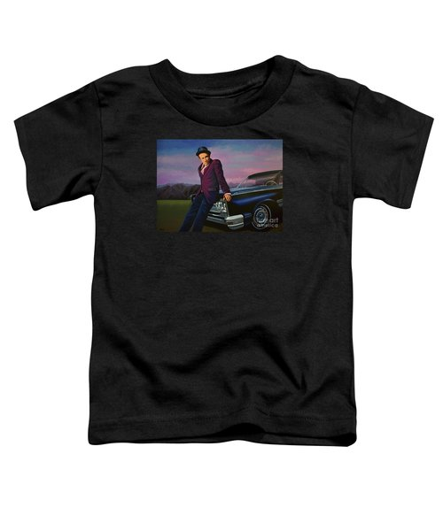 Tom Waits Toddler T-Shirt by Paul Meijering