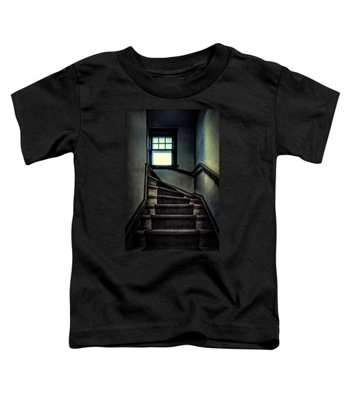 Top Of The Stairs Toddler T-Shirt