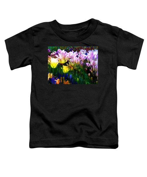 Totally Tulips Toddler T-Shirt
