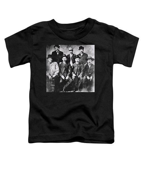 Tough Men Of The Old West Toddler T-Shirt