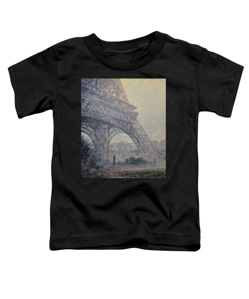 Paris , Tour De Eiffel  Toddler T-Shirt