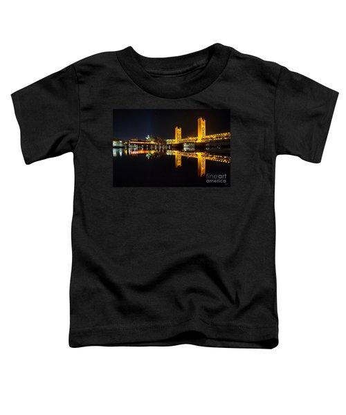 Tower Bridge Sacramento Toddler T-Shirt