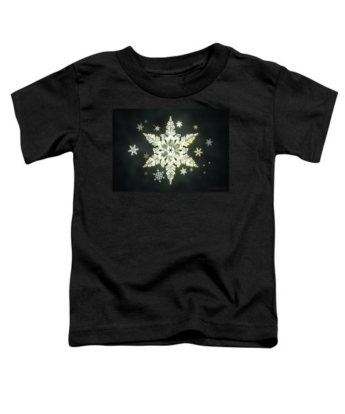 Traditional Sunlight Snowflakes Toddler T-Shirt