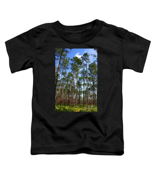 Trail Through The Pine Forest Toddler T-Shirt