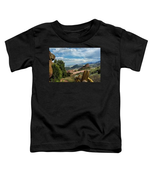 Trails At Red Rocks Toddler T-Shirt