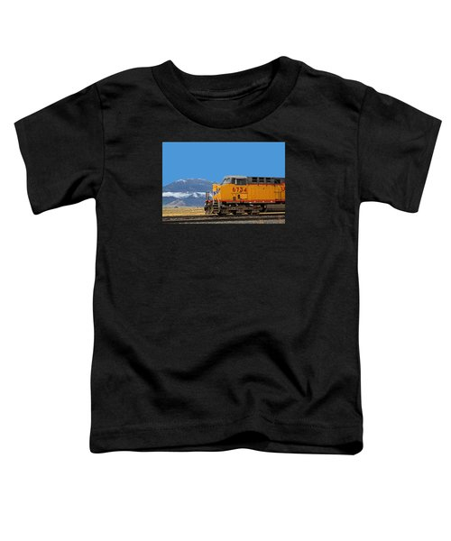 Train In Oregon Toddler T-Shirt