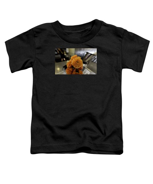 Toddler T-Shirt featuring the photograph Treats At The Ice Cream Parlor by Lora Lee Chapman