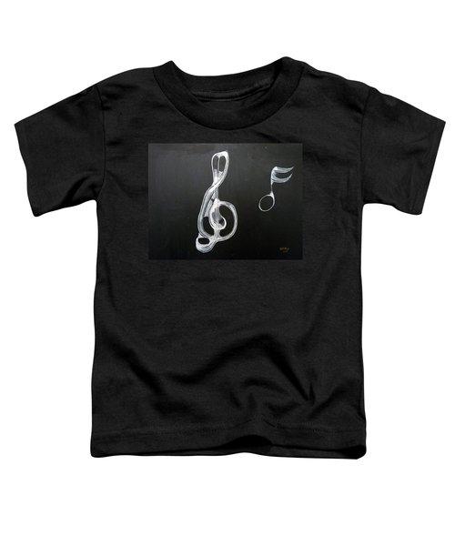 Treble Clef Toddler T-Shirt