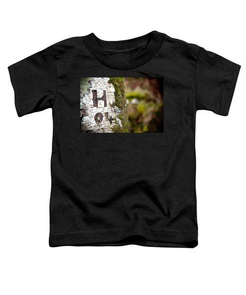 Tree Bark Graffiti - H 04 Toddler T-Shirt