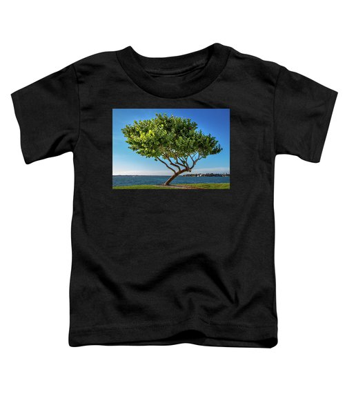 Tree On The Bay Toddler T-Shirt