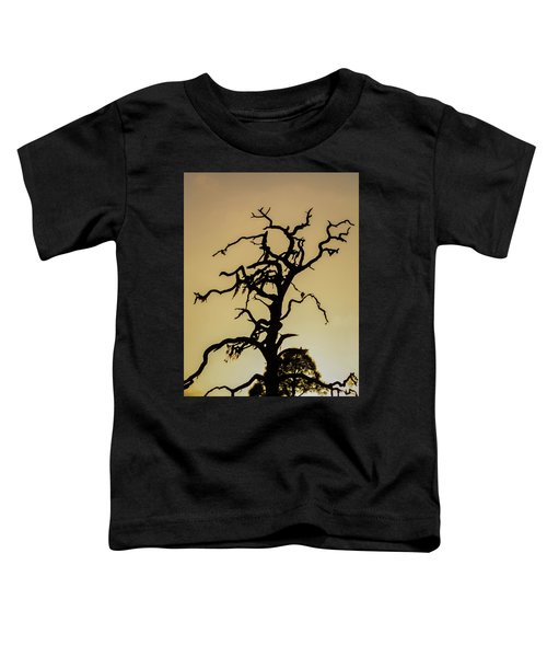 Tree Silhouette Toddler T-Shirt