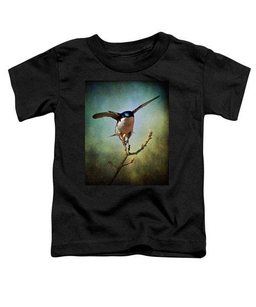 Tree Swallow 2 Toddler T-Shirt