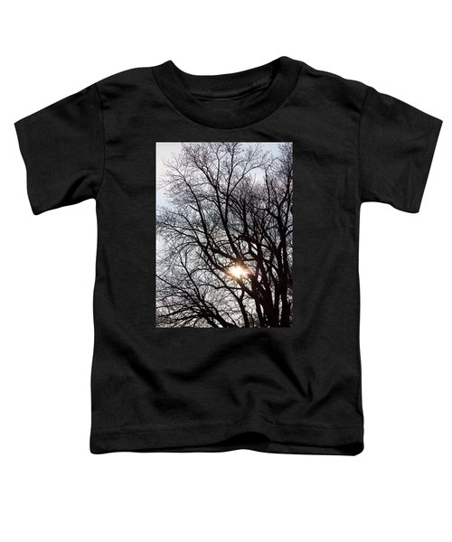 Toddler T-Shirt featuring the photograph Tree With A Heart by James BO Insogna