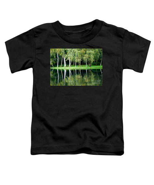 Trees Reflected In Water Toddler T-Shirt