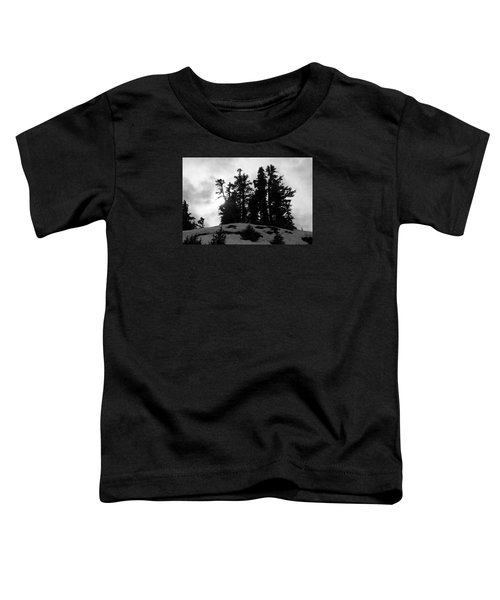 Toddler T-Shirt featuring the photograph Trees Silhouettes by Yulia Kazansky