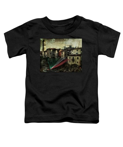 Tribute To Italy Toddler T-Shirt