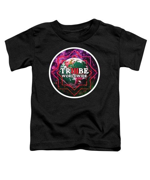 Triiibe Worldwide By Lorcan Toddler T-Shirt