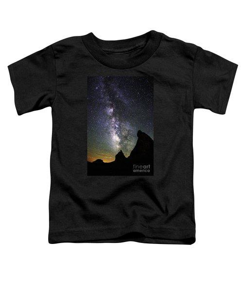 Trona Pinnacles Milky Way Toddler T-Shirt