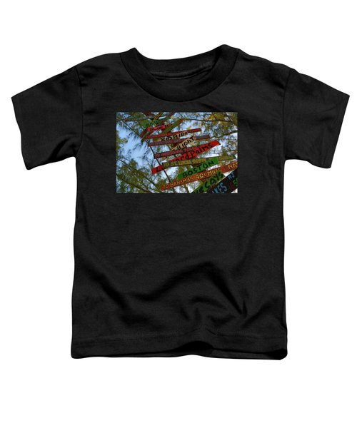 Tropical Directions Toddler T-Shirt