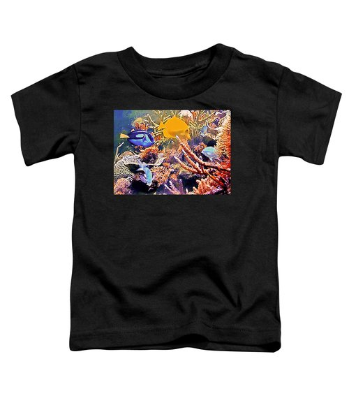 Tropical Fantasy Toddler T-Shirt