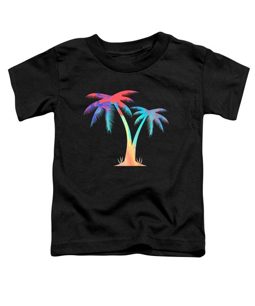 Tropical Palm Trees Toddler T-Shirt