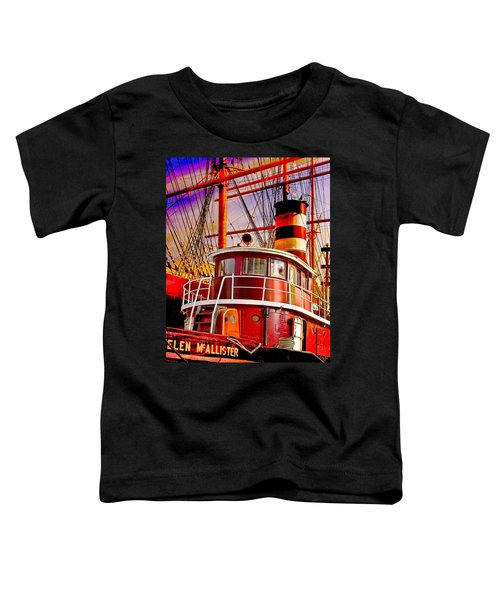 Tugboat Helen Mcallister Toddler T-Shirt