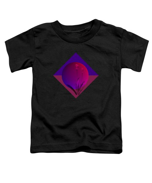 Tulip Abstract Toddler T-Shirt by Nancy Pauling