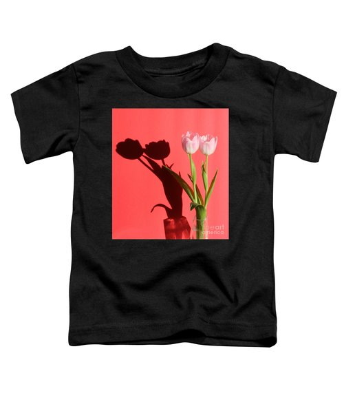 Tulips Casting Shadows Toddler T-Shirt