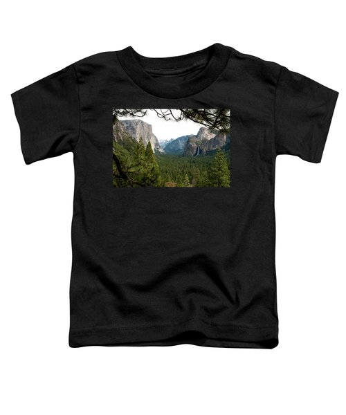 Tunnel View Framed Toddler T-Shirt