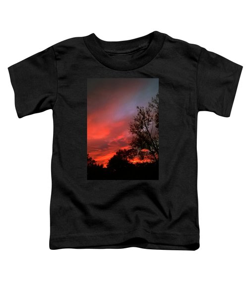 Twilight Fire Toddler T-Shirt
