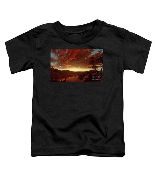 Twilight In The Wilderness Toddler T-Shirt