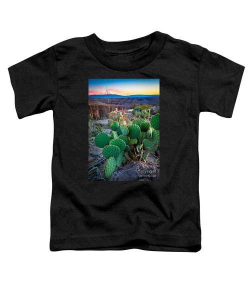 Twilight Prickly Pear Toddler T-Shirt