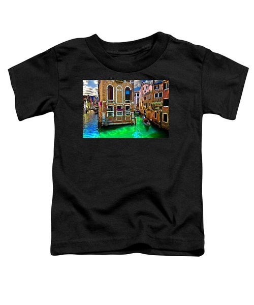 Twin Canals Toddler T-Shirt