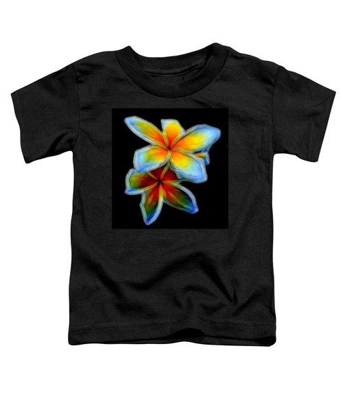 Two Plumerias Toddler T-Shirt